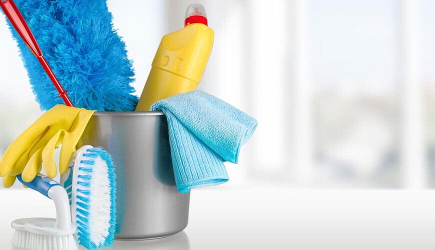 Tīrīšanas līdzekļi un saimniecības preces
